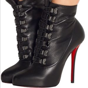 Christian Louboutin Troopista Ankle Bootie